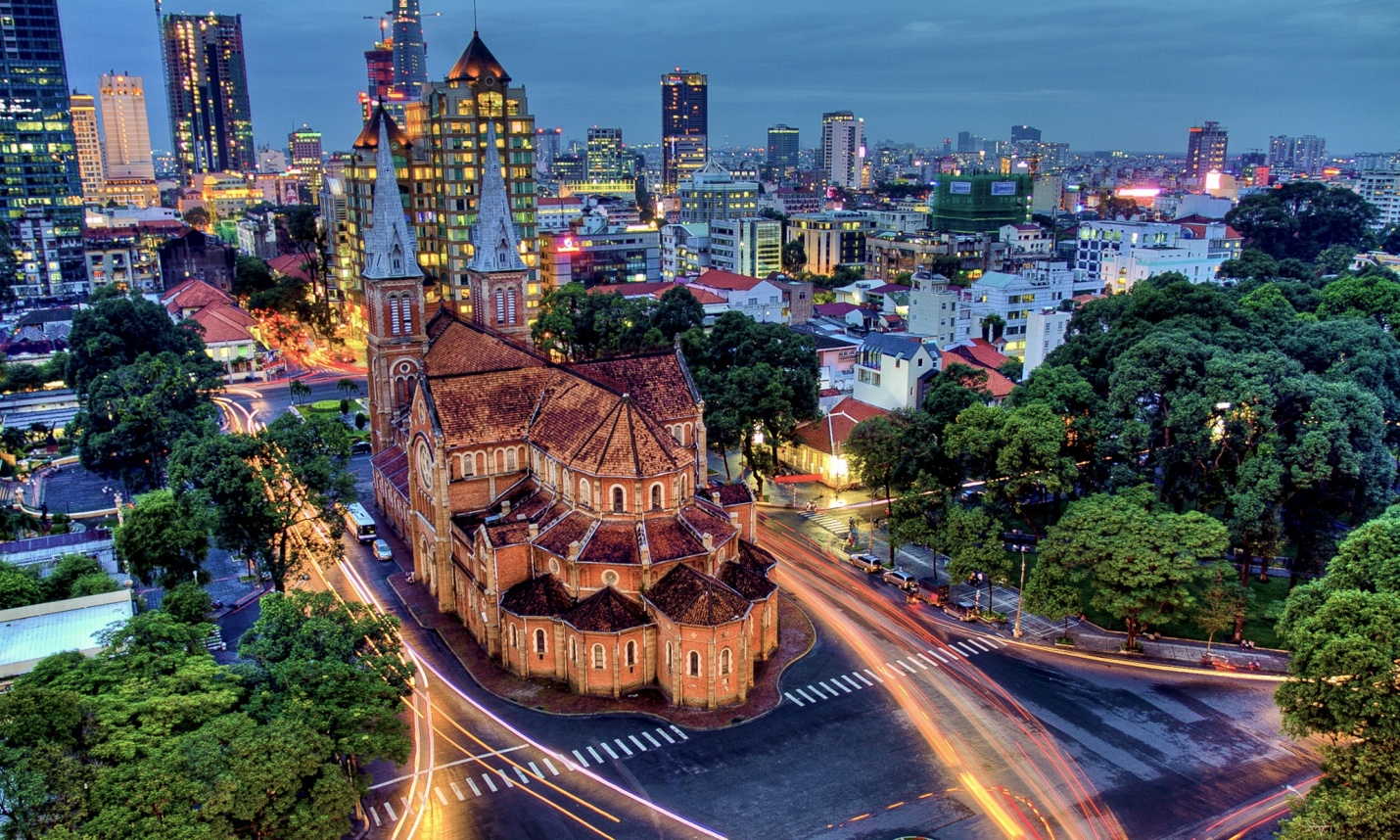 Saigon city tour